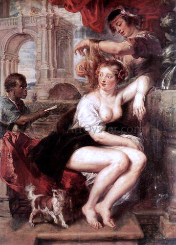 Peter Paul Rubens Bathsheba at the Fountain - Hand Painted Oil Painting