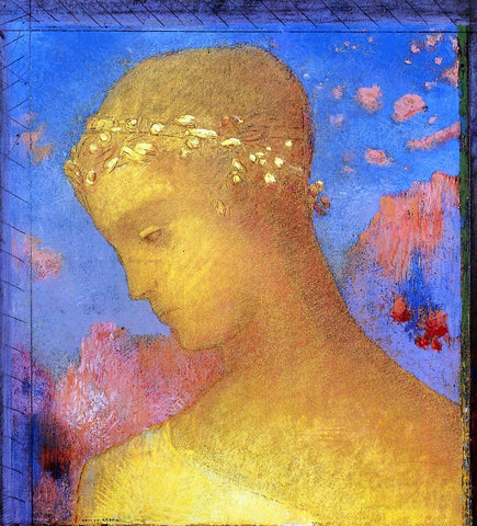 Odilon Redon Beatrice - Hand Painted Oil Painting
