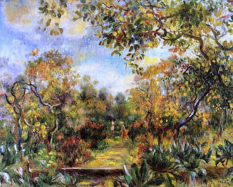 Pierre Auguste Renoir Beaulieu Landscape - Hand Painted Oil Painting
