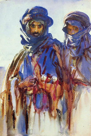 John Singer Sargent Bedouins - Hand Painted Oil Painting