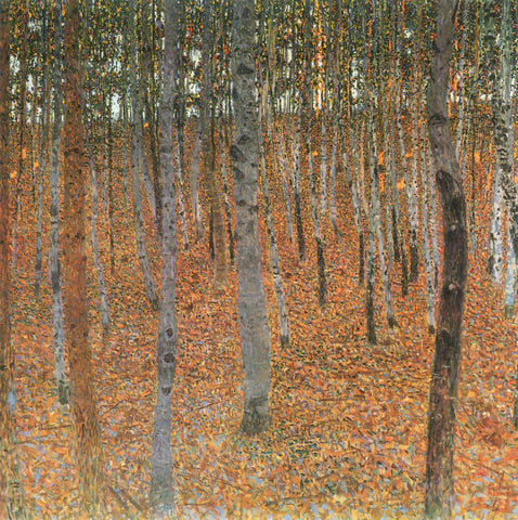 Gustav Klimt Beech Grove I - Hand Painted Oil Painting
