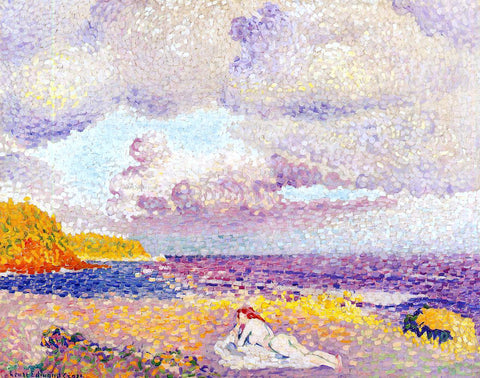 Henri Edmond Cross Before the Storm (also known as The Storm) - Hand Painted Oil Painting