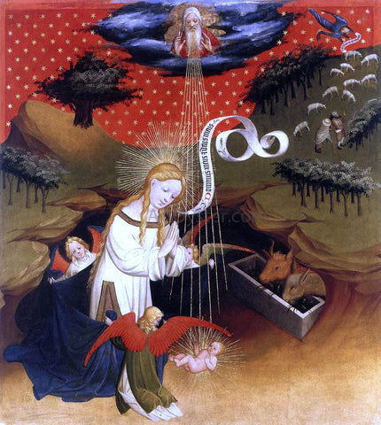 Master Francke Birth of Jesus - Hand Painted Oil Painting