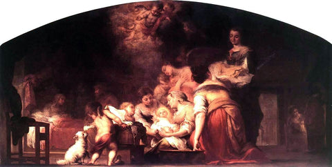 Bartolome Esteban Murillo Birth of the Virgin - Hand Painted Oil Painting