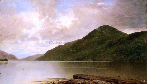 John Frederick Kensett Black Mountain, Lake George - Hand Painted Oil Painting