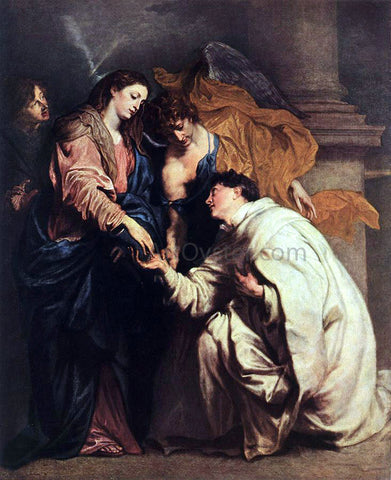 Sir Antony Van Dyck Blessed Joseph Hermann - Hand Painted Oil Painting