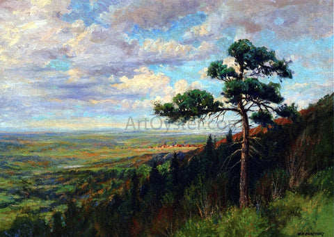 William Henry Bancroft Blodgett Peak - Hand Painted Oil Painting