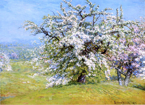 John Joseph Enneking Blooming Meadows - Hand Painted Oil Painting