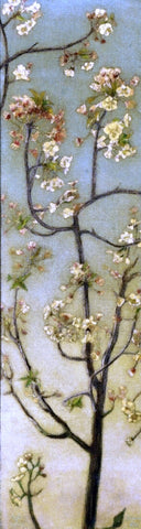 Charles Caryl Coleman Blossoming White Branches - Hand Painted Oil Painting