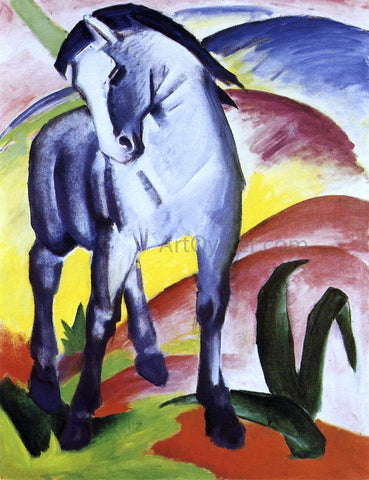 Franz Marc Blue Horse I - Hand Painted Oil Painting