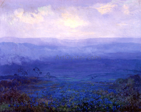 Julian Onderdonk Bluebonnets in Texas - Hand Painted Oil Painting