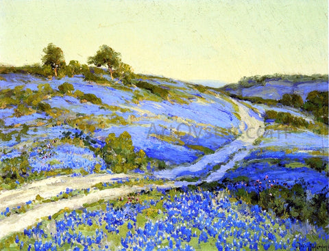 Julian Onderdonk Bluebonnets, Late Afternoon - Hand Painted Oil Painting
