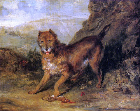 Sir Edwin Henry Landseer Bob - Hand Painted Oil Painting