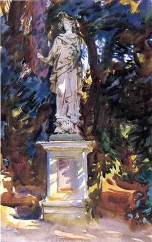 John Singer Sargent Boboli - Hand Painted Oil Painting
