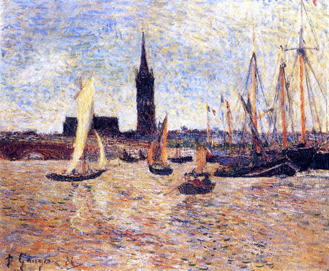 Paul Gauguin Bordeaux Harbor - Hand Painted Oil Painting