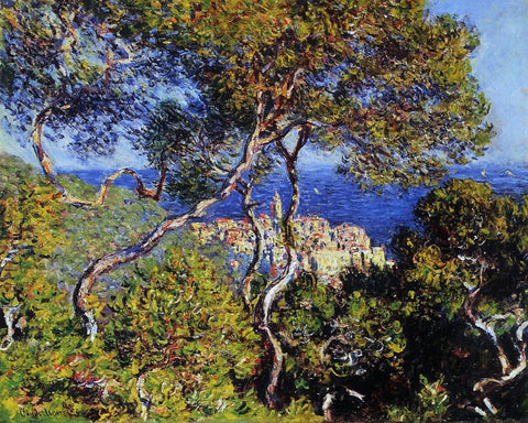 Claude Oscar Monet Bordighera - Hand Painted Oil Painting