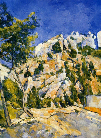 Paul Cezanne Bottom of the Ravine - Hand Painted Oil Painting