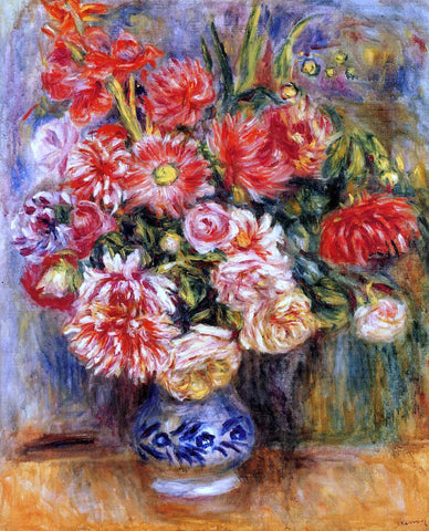 Pierre Auguste Renoir Bouquet - Hand Painted Oil Painting