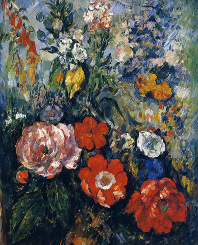 Paul Cezanne Bouquet of Flowers - Hand Painted Oil Painting