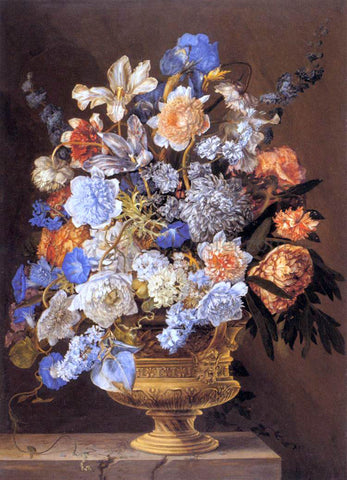 II Jacques Bailly Bouquet of Flowers - Hand Painted Oil Painting