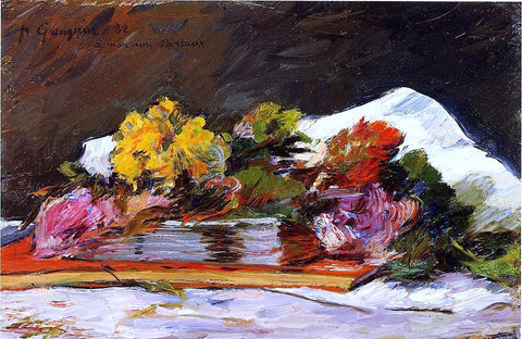 Paul Gauguin Bouquet of Flowers - Hand Painted Oil Painting
