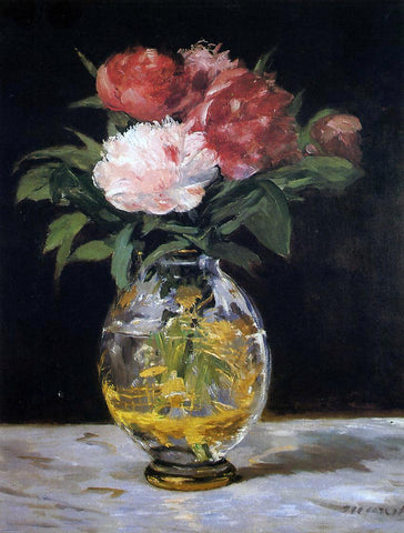 Edouard Manet Bouquet of Flowers - Hand Painted Oil Painting