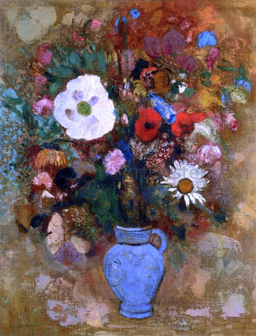 Odilon Redon Bouquet of Flowers - Hand Painted Oil Painting
