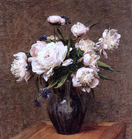 Henri Fantin-Latour Bouquet of Peonies - Hand Painted Oil Painting