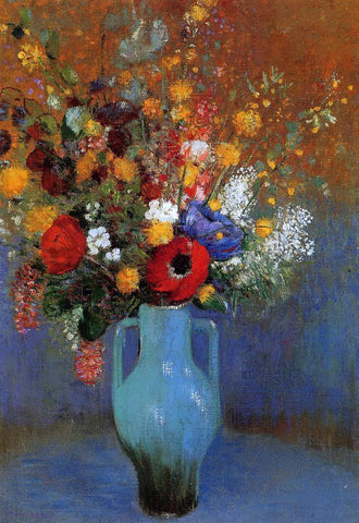 Odilon Redon Bouquet of Wild Flowers - Hand Painted Oil Painting