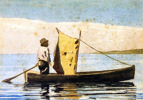 Winslow Homer Boy In a Small Boat - Hand Painted Oil Painting