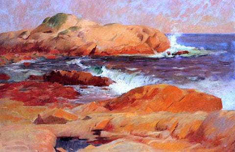 Frank Duveneck Brace's Rock - Hand Painted Oil Painting