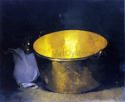 Emil Carlsen Brass and Copper - Hand Painted Oil Painting
