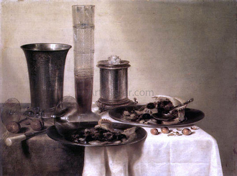 Willem Claesz Heda Breakfast Still-Life - Hand Painted Oil Painting