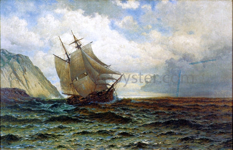William Bradford Brigantine off the Lee Shore - Hand Painted Oil Painting
