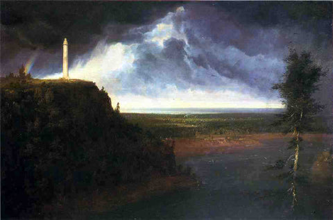 Thomas Cole Brock's Monument - Hand Painted Oil Painting