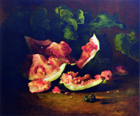 Charles Ethan Porter Broken Watermelon - Hand Painted Oil Painting