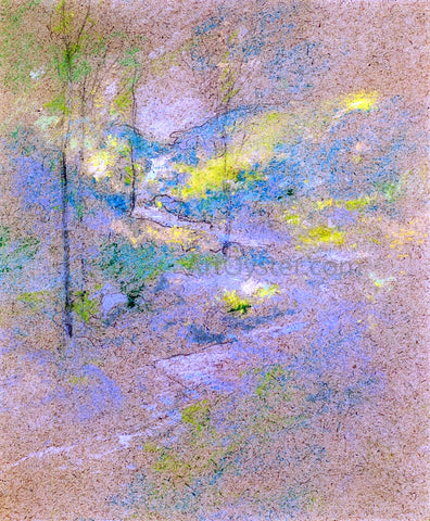John Twachtman Brook Among the Trees - Hand Painted Oil Painting