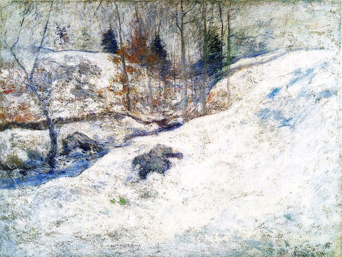 John Twachtman Brook in Winter - Hand Painted Oil Painting
