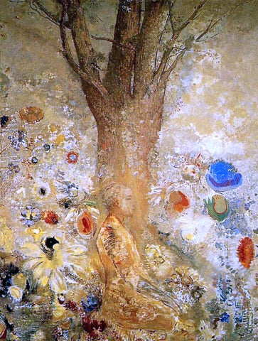 Odilon Redon Buddah in His Youth - Hand Painted Oil Painting