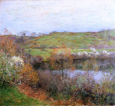 Willard Leroy Metcalf Buds and Blossoms - Hand Painted Oil Painting