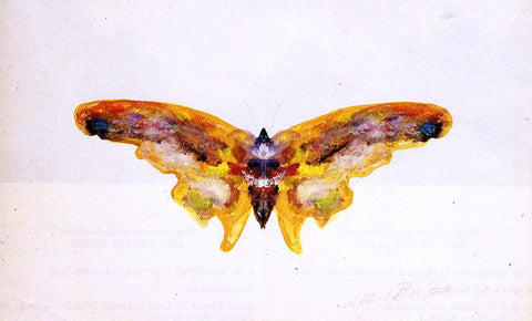 Albert Bierstadt The Butterfly - Hand Painted Oil Painting