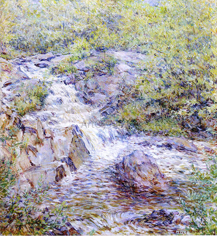 Robert Lewis Reid Buttermilk Falls - Hand Painted Oil Painting