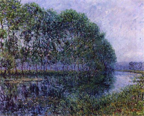 Gustave Loiseau By the Eure River - Hand Painted Oil Painting