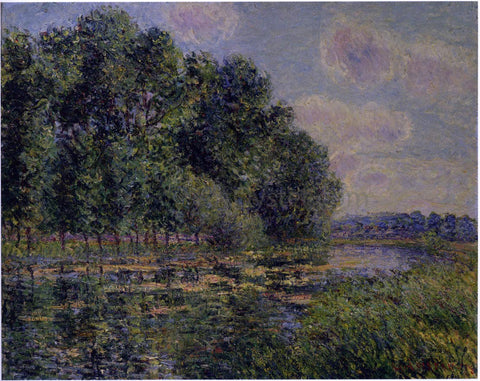 Gustave Loiseau By the Eure River in Summer - Hand Painted Oil Painting