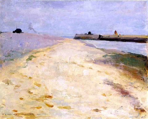 Willard Leroy Metcalf By the Shore, Walberswick - Hand Painted Oil Painting