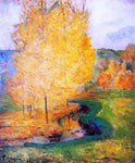 Paul Gauguin By the Stream, Autumn - Hand Painted Oil Painting