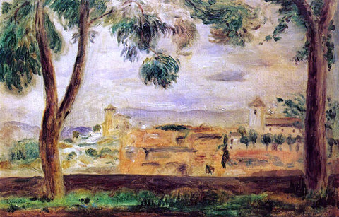 Pierre Auguste Renoir Cagnes - Hand Painted Oil Painting