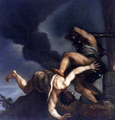 Titian Cain and Abel - Hand Painted Oil Painting