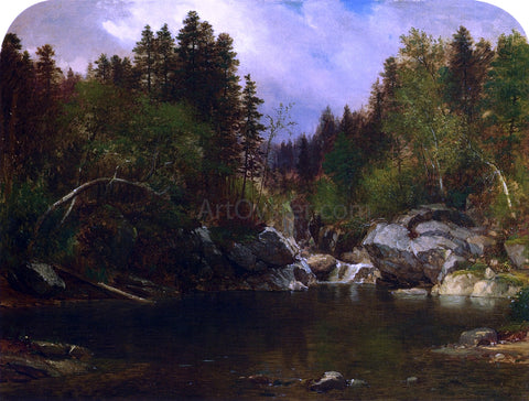 Samuel Lancaster Gerry Calm Pond - Hand Painted Oil Painting