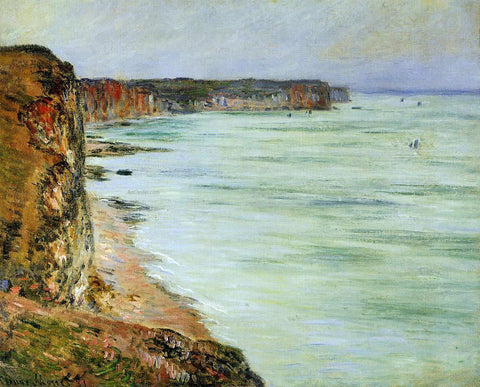 Claude Oscar Monet Calm Weather, Fecamp - Hand Painted Oil Painting